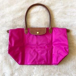 NWOT Longchamp Le Pliage tote bag
